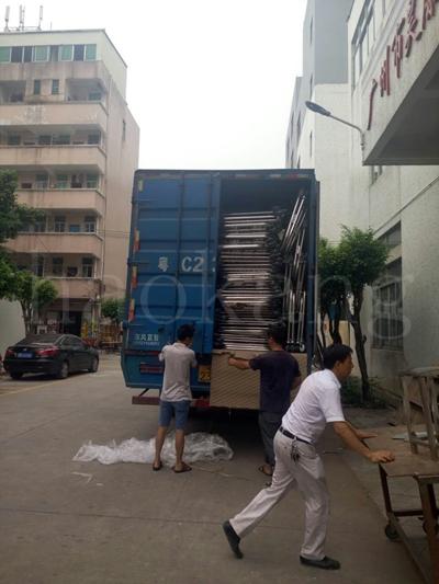 医用病床发往广州清远连州一整车