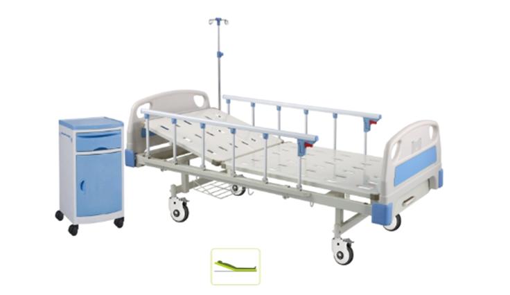 单摇两折医疗床HK208
